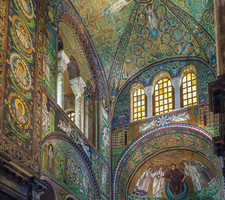 Basilique San Vitale à Ravenne