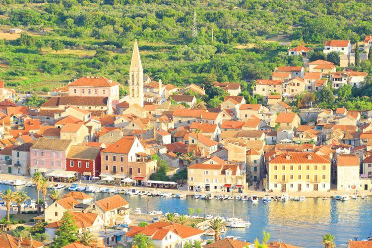 Stari Grad sur l'île de Hvar