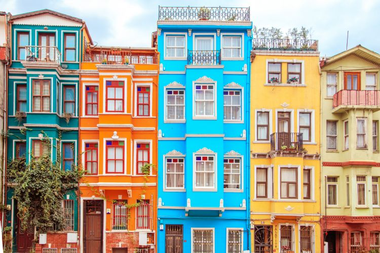 Quartier de Balat à Istanbul