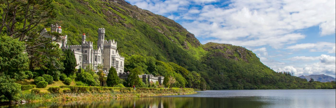 Abbaye de Kylemore dans le Connemara