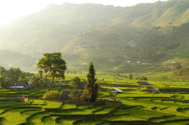 Vallée de Muong Hoa