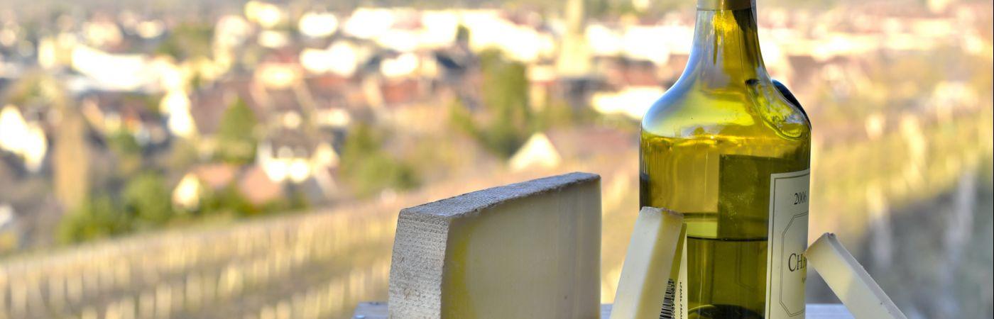 Vin jaune et comté